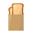 toasted bread box vector image