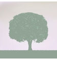 vintage tree design vector image