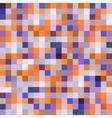 Colorful geometric modern pattern seamless pattern vector image