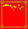 Happy Chinese new year background vector image