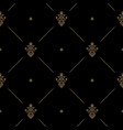 seamless dark pattern decor vector image