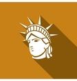 Statue of Liberty New York landmark American vector image
