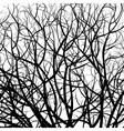 tree pattern vector image vector image