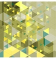Abstract tech retro geometric background vector image vector image