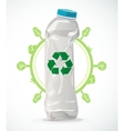 recycle plastic vector image