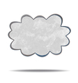climate gray cloud vector image