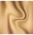 Creamy glossy silk abstract background vector image