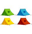 Tents vector image