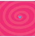 magic heart vector image vector image