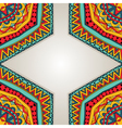 Bright Ethnic Frame vector image