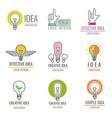 creative idea digital media smart brain concept vector image