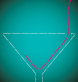 Bright cocktail made from words in format vector image vector image