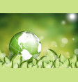 environmental background vector image
