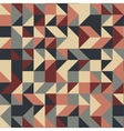Colorful triangles background vector image