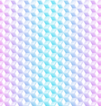 Abstract neon cubes seamless background vector image