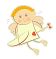 Valentines Cupid Isolated vector image
