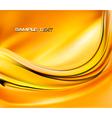 yellow autumn elegant background vector image vector image