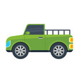 pickup truck isolated icon vector image