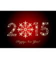2015 Happy New Year magic background vector image vector image