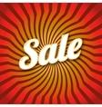 Lettering Sale dynamic background vector image vector image
