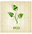 eco striped old background vector image