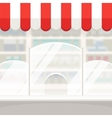 Facade of a Shop Store or Pharmacy Background vector image