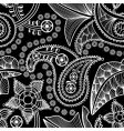 paisley seamless background vector image