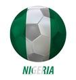 nigeria vector image vector image