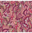 Floral paisley colorful ornate seamless pat vector image