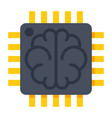 artificial intelligence icon vector image