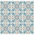 Blue and pink pattern vector image