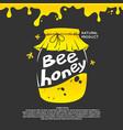 for advertising honey vector image