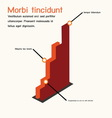 InfographBusiness Bargraph vector image