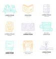 Literature Logos vector image