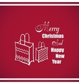 New Year Badge Gifts vector image