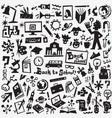 school education - icons set vector image