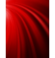 Red curtain with place for text EPS 10 vector image