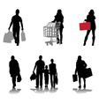 shopping 2 vector image