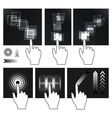 touch screen vector image vector image