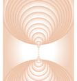 cream swirl vector image