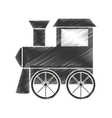 train baby toy icon vector image