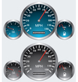 car dashboards vector image vector image