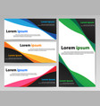 Banner abstract vector image