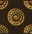 gold hand drawn ethnic tribal background vector image