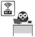 Free WiFi vector image vector image