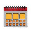 calendar icon image vector image