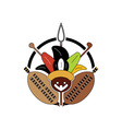 Zulu-Tribe-Sign-380x400 vector image