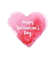 hand drawn Valentines day card vector image vector image