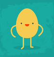 Funny Egg vector image