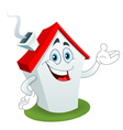 cartoon house vector image